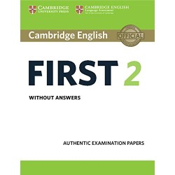CAMBRIDGE ENGLISH FIRST 2 ST WITHOUT KEY 15 CAMIN67IDI