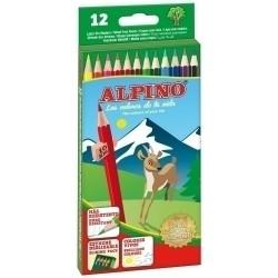 LAPICES de COLORES ALPINO...