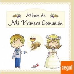 ALBUM DE MI PRIMERA COMUNION