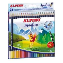 LAPICES ACUARELABLES ALPINO...