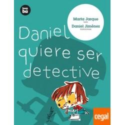 DANIEL QUIERE SER DETECTIVE...