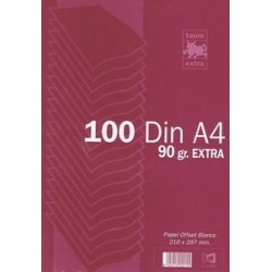 PAPEL A4 90GR LISO PAQUETE...