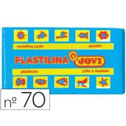 PLASTILINA 70 AZUL CLARO...