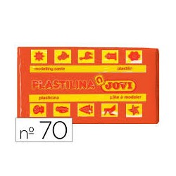 PLASTILINA 70 NARANJA PEQUEÑA