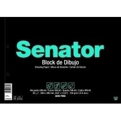 BLOC DE DIBUJO SENATOR Fº