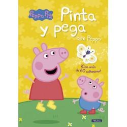 PINTA Y PEGA CON PEPPA