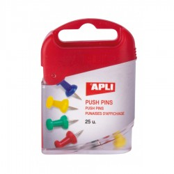 AGUJAS PUSH PINS COLORES...