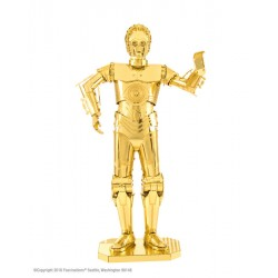 MAQUETA METAL GOLD C-3PO...