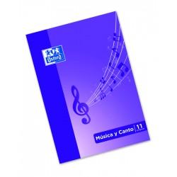 LIBRETA PENTAGRAMA MUSICA...