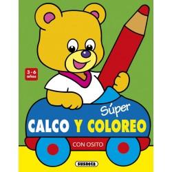SUPER CALCO Y COLOREO CON...