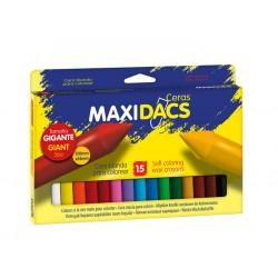 CERA MAXIDACS 15 COLORES...