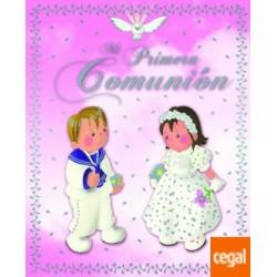 MI PRIMERA COMUNION AZUL