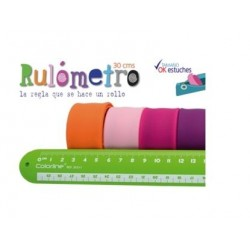REGLA RULOMETRO 30 cm  COOL...