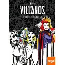 VILLANOS LIBRO PARA COLOREAR